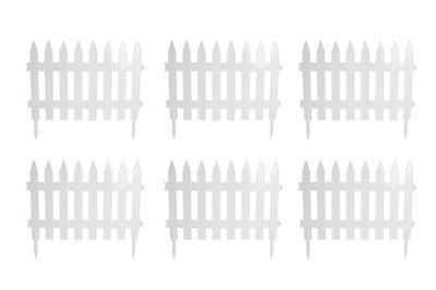 Tieniacia clona na plot - PLASTICKÁ ZÁHRADA PLASTOVÝ palisádový pozemok 35m BIEL