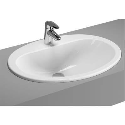 Umývadlo Umývadlo Vitra S20 S50 Arkitekt 60 inštalácia v pracovnej doske