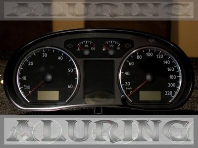 АЛЮМИНИЕВЫЕ РАМКИ НА ЩИТОК VW POLO 9N