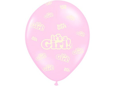 id_2372 BALON BALONY CHRZEST GIRL BABY SHOWER TORT