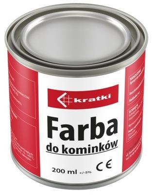Farba krby termoodporna liatina oceľ 200 ml
