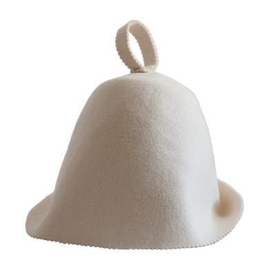POLSKA Kapelusz czapka do SAUNY Sauna 100% WEŁNA