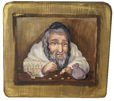 Еврей, жид порхатый ?????????? на деревянной доске ИЗОБРАЖЕНИЕ
