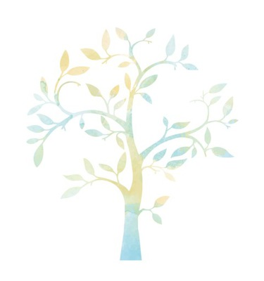Nálepka na stenu TREE fotorámčeky! 170x134 cm