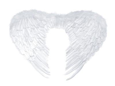 Karnevalový kostým, maska - Anjelské krídla biela WINGS JACKET SK6
