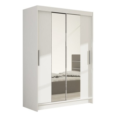 шкаф - КУПЕ Майами-II с зеркалом 120см Гардероб