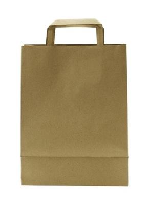 Torba torebka papierowa szara 180x85x230 50szt.