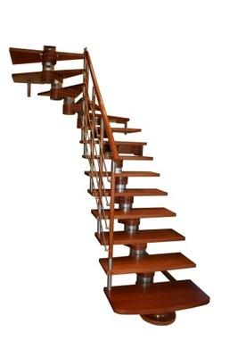 Лестница КОРА модель Moreno 250 Lux Л -90 12 элементов