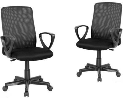 Zgrabny fotel biurowy krzesło Q 039 czarny Signal 7661114764