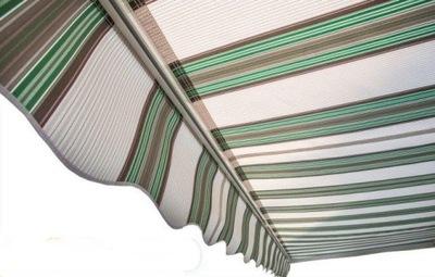 маркиза PÓŁKASETA 500x350 зелено-szar электрическая