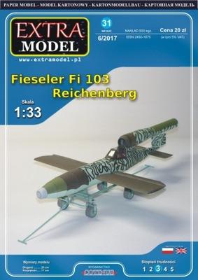 MODEL_Samolot Физелер Fi 103 Reichenberg