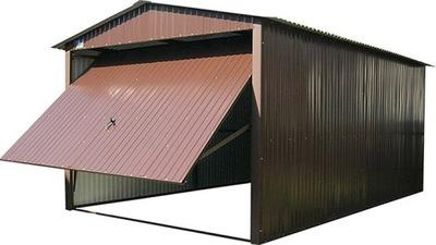 Гаражи Жестяные 3х5 Blaszaki Остроконечные гараж бронза