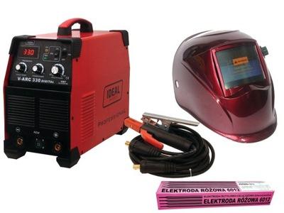 Zváračka, príslušenstvo - MMA IDEAL V-ARC 330 IGBT DIGITÁLNY Zvárací stroj + KIT