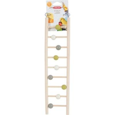 Zolux Игрушка для попугаев Лесенка с шариками 134021