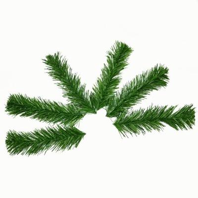 Ветка Сосны зеленый одна 19cm/комплект 6шт