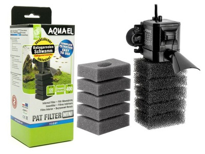 Interný filter AQUAEL PAT MINI + FINE SPONGE