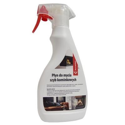 жидкость Пена для каминных стекол Чистка мытье