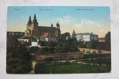 PZ 605  Posen Palais des Erzbischofs