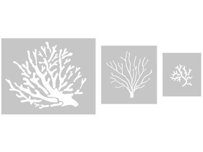 Coral Kreatívny Set - nastavenie šablóny na maľovanie