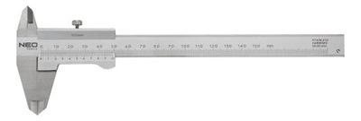 NEO VERNIER STRMEŇ 150 MM CERTIFIKÁT DIN 862 75-001