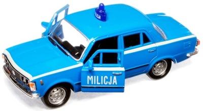 ПНР автомобиль МИЛИЦИЯ МО ПОЛИЦИЯ полицейская МАШИНА Fiat 125p