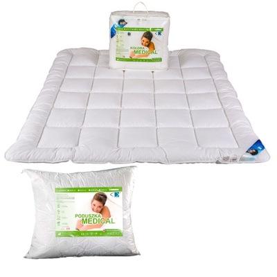 комплект Одеяло MEDICAL 140х200 + подушка 70x80