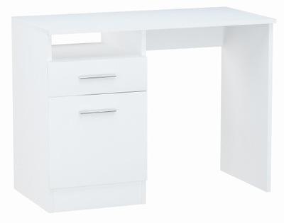Письменный стол, шкаф БОДО DSP 100см белое стеллаж комод