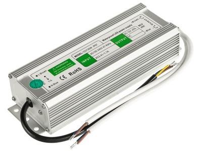Napájací zdroj pre LED pásy 12 12A 150W nepremokavé I67