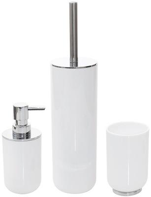 NASTAVIŤ VAŇA príslušenstvo set biela WC v každej izbe