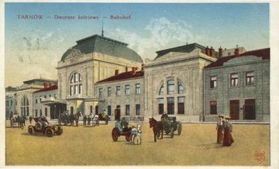 . ЖЕЛЕЗНОДОРОЖНЫЙ ВОКЗАЛ. BAHNHOF.  1915