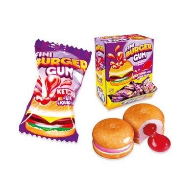 ФИНИ резинка вау, жвачка-Гамбургер с начинкой 10шт