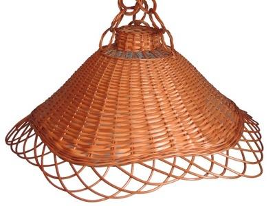 Абажур плетеный Люстра из Лозы Лампа FI 53cm