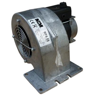 Dúchadlo, ventilátor sporák WPA03 3 rýchlosti + prílohy