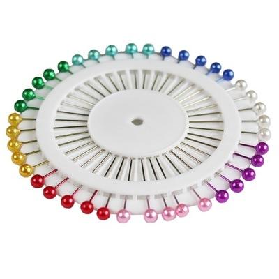 булавки портновские на диске 38 цветные 40 штук .