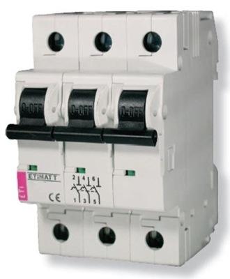 Moc obmedzovač ETIMAT T 3P 25A (002181063) ETI