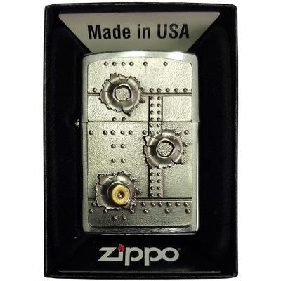 Зажигалка ZIPPO Bullet Holes 3D