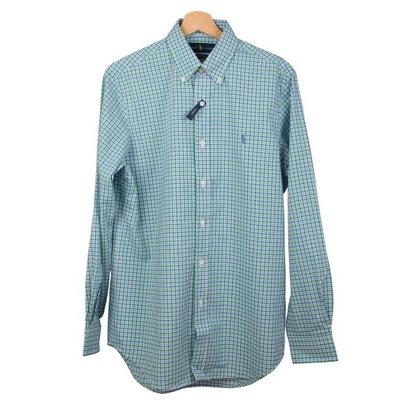 59f6bb3f3 RALPH LAUREN Koszula kratka kieszeń logo NOWA L XL - 5428220073 ...