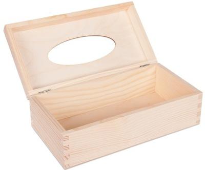деревянный салфетница Салфеток декупаж коробка
