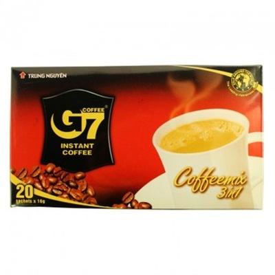 ВЬЕТНАМСКИЕ кофе РАСТВОРИМАЯ 3 в 1 Вьетнам 20x16 Г