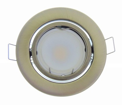 LAMPY MEDAILISTA STRECHY MOSADZ 5W LED