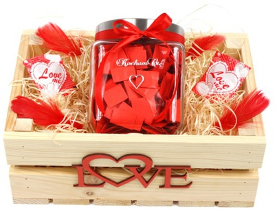Prezent Na Walentynki Dla Niej Krysztal 3d Promo 7600758050 Oficjalne Archiwum Allegro