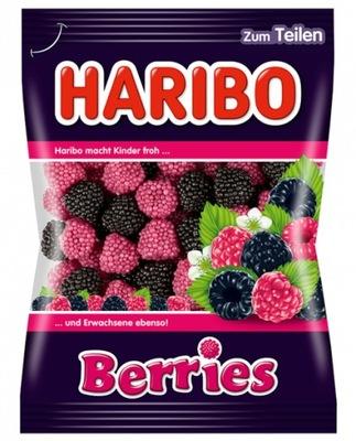 Haribo Berries малинки jeżynki 200г