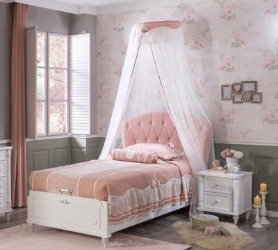 Nábytok pre malé dievčatá biela princezná Princezná