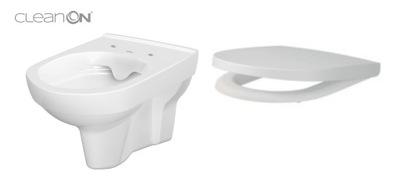WC misa - CERSANIT HANGING MESTO MESTO ČISTENÉ NA DESKU WOLNOOP