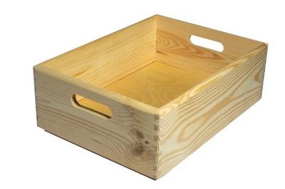 деревянная коробка на средства 40x30x15