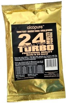 дрожжи ??? дистилляции Турбо 24 ч - 33l  21 %
