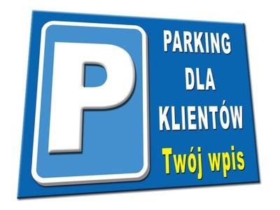 TABLICA TABLICA PARKING ZAKAZ PARKOWANIA znak stop