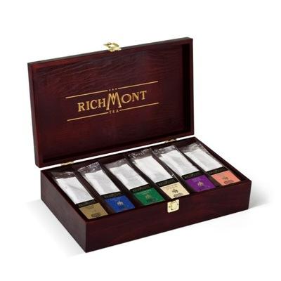 Richmont Teas деревянная коробка 72 чаи подарок