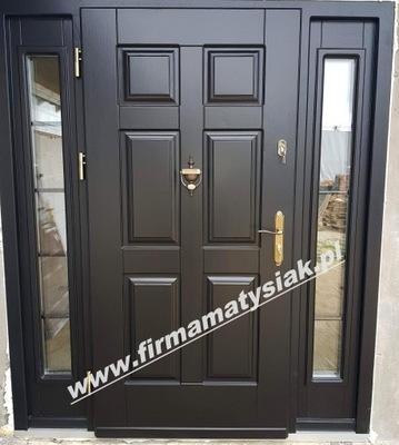 двери Внешние деревянные черные