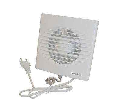 Вентилятор DOSPEL РИКО 100 WP Выключатель нарисованного
